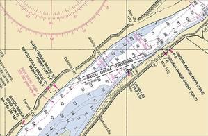 Bayou Goula Area: Image credit NOAA