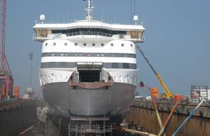 MacGregors conversion team is no stranger to the vessel, originally altering the ferry in 2008.
