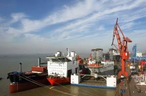 Photo courtesy of COSCO Nantong Shipyard