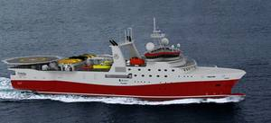GC Reibers seismic vessel: Image courtesy of MAN