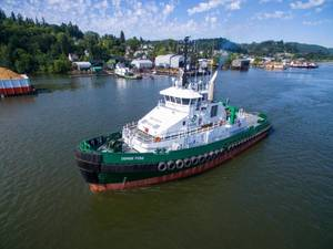 The Denise Foss, ready for the Arctic far North (Photo: Foss)