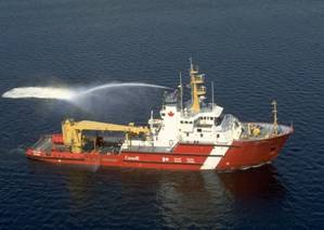 CCGS Earl Grey (Photo courtesy of the Canadian Coast Guard)
