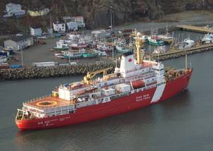 CCGS Louis St Laurent (Photo: Canadian Coast Guard)