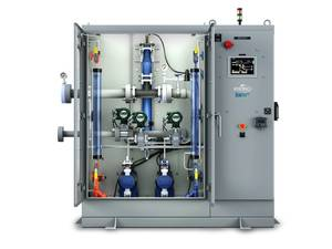Ecochlor has filed an application for the EcoOne Filterless and EcoOne Hybrid ballast water management systems (BWMS) with the U.S. Coast Guard (USCG) for Type Approval. Image courtesy Ecochlor