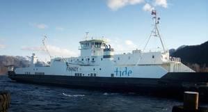 Hybrid Ferry MF Finnøy