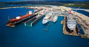 (Photo: Grand Bahama Shipyard Limited)