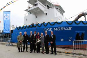 Eke Möbius Christening: Photo credit Sietas