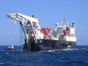A similar vessel: Photo courtesy of PR Allseas