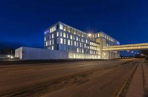 Hempel opened its new Campus, which includes a newly constructed office building and a state-of-the art R&D facility. Photo courtesy Hempel