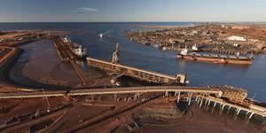 Port Hedland (Photo: Pilbara Ports Authority)