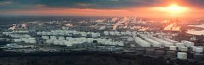 File Image:  An aerial view of the Houston Refining complex and ship channel / CREDIT: AdobeStock / © Irina K