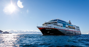 BATTERY POWERED: Hurtigruten is converting three more ships to become hybrid-powered. Photo: MAXIMILIAN SCHWARTZ/Hurtigruten
