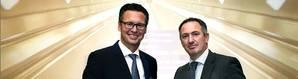 IACS Chairman Knut Ørbeck-Nilssen (left) and Robert Ashdown, IACS Secretary General. Photo: DNV GL