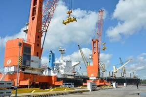 Hijo International Port Services, Inc., Philippines. Photo: ICTSI
