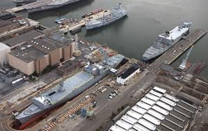 Northeast Ship Repairs Philadelphia yard