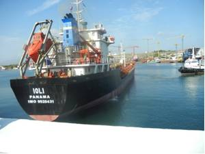 2009-built tanker vessel Ioli  (Photo: NewLead Holdings)