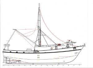 Drawings courtesy of Rodriguez Boat Builders