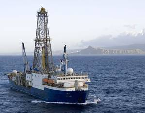 JOIDES Resolution (File photo: William Crawford, IODP/TAMU)