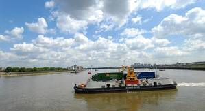 Woolwich Ferry: Photo credit Briggs Marine