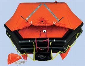 Zodiac's Open Sea ISO 9650 life raft