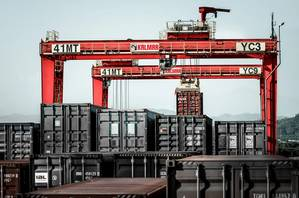 Cargotec company Kalmar is to supply RTGs to DP World for installation at the Nhava Sheva International Container Terminal in Mumbai, India.  (Photo: Cargotec)