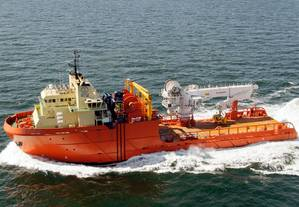 ECO's Kirt Chouest, a 288′ multipurpose supply vessel (Photo courtesy of Edison Chouest Offshore)