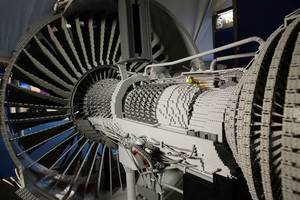 Lego Engine: Photo courtesy of Rolls-Royce