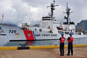 Jarvis Returns From Last Patrol: Photo credit USCG