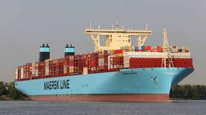 A Maersk Container Ship - Credit: Maersk