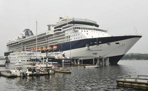 Celebrity Cruise Ship Millennium in Ketchikan, Alaska (Photo: AP)