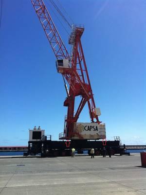 Kalmar Refurbishes Mobile Harbor Crane