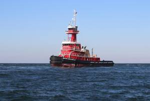 M/V Morton S. Bouchard Jr. on sea trials (Photo: VT Halter Marine)