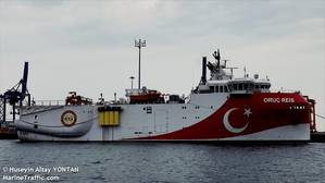 Image for illustration; Oruc Reis seismic vessel - Photo by Huseyin Altay YONTAN/MarineTraffic.com