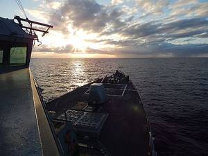 Photo courtesy of U.S. Navy photo