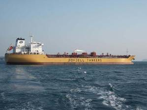 Odfjells tanker vessel involved in the incident, M/T Bow Lind (Photo: Odfjell)