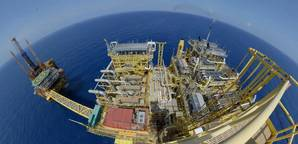 file image: an offshore production platfom (CREDIT: James Fisher)