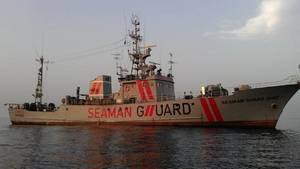 MV Seaman Guard Ohio: Photo courtesy of Owners, AdvanFort