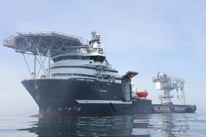 Olympic Artemis will be the first Olympic Subsea ship to deploy Kongsberg Digital's Vessel Insight and Vessel Performance data infrastructure and performance monitoring solutions - Image by James Fisher, via Kongsberg Digital