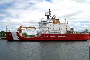 Coast Guard Cutter Mackinaw (USCG photo)