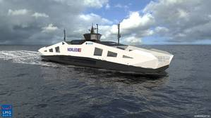 Two new environmentally friendly vessels for the Norwegian ferry operator Norled will be propelled by high efficiency azimuth thrusters from SCHOTTEL (Photo: SCHOTTEL)