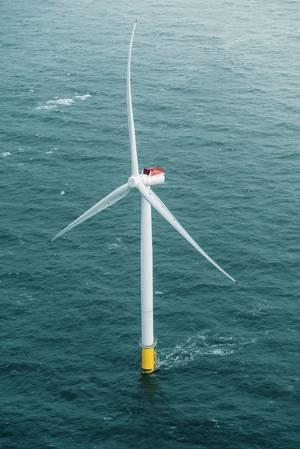 6-MW Siemens Gamesa wind turbine. The same model will be installed at Coastal Virginia. (Photo: Business Wire)