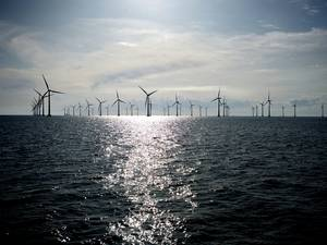 file Image: an offshore wind farm (CREDIT Seimens)