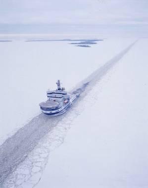 Icebreaker MSV Botnica: Photo credit Port of Tallinn