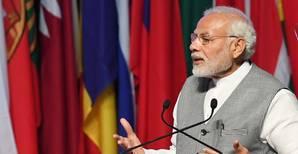 Indian prime minister Narendra Modi. Photo PIB