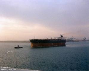 The VLCC Riah, thought by stakeholders to be the seized vessel held by Iran. CREDIT: MarineTraffic.com / © Marinko