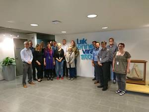 FTA's and Teledyne CARIS' project team together at the kick-off meeting for the start of the project (Photo: Teledyne CARIS)