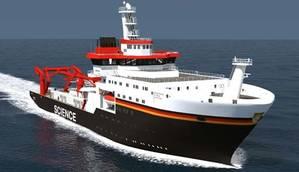 Tiefsee Forschungs Schiff: Image credit Kongsberg Maritime