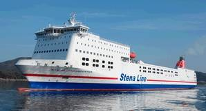 Stena Transporter is to be retrofitted with Wärtsilä in-line closed-loop scrubber systems. (Photo courtesy of Wärtsilä)