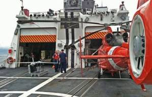 Flight deck Berthholf: Photo credit USCG