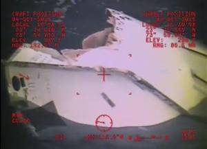 Lifeboat wreckage discovered by search crews Sunday (Image: USCG)